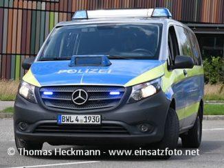 Polizeiauto Baden-Württemberg